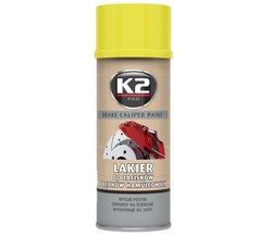 K2 BRAKE CALIPER PAINT L346ZO 400 ML lakier do zacisków i bębnów ham. - ŻÓŁTY